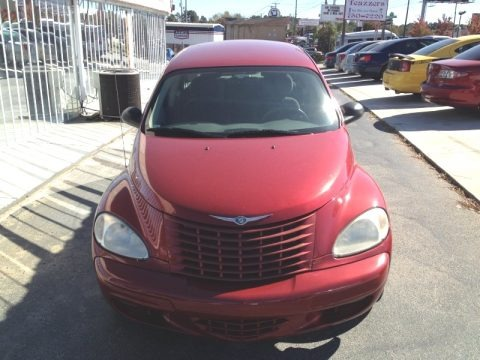 Inferno Red Crystal Pearl 2005 Chrysler PT Cruiser Touring
