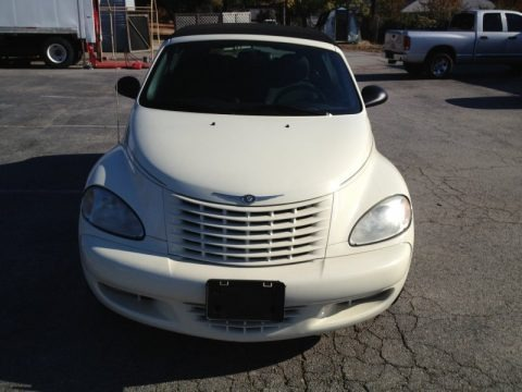 Linen Gold Metallic Pearl 2005 Chrysler PT Cruiser Touring Turbo Convertible