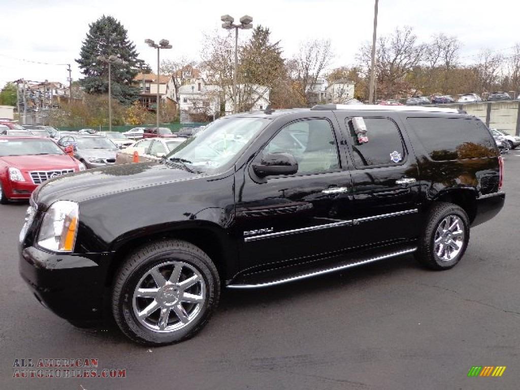 2011 gmc yukon xl denali awd in onyx black 260237 all american automobiles buy american. Black Bedroom Furniture Sets. Home Design Ideas