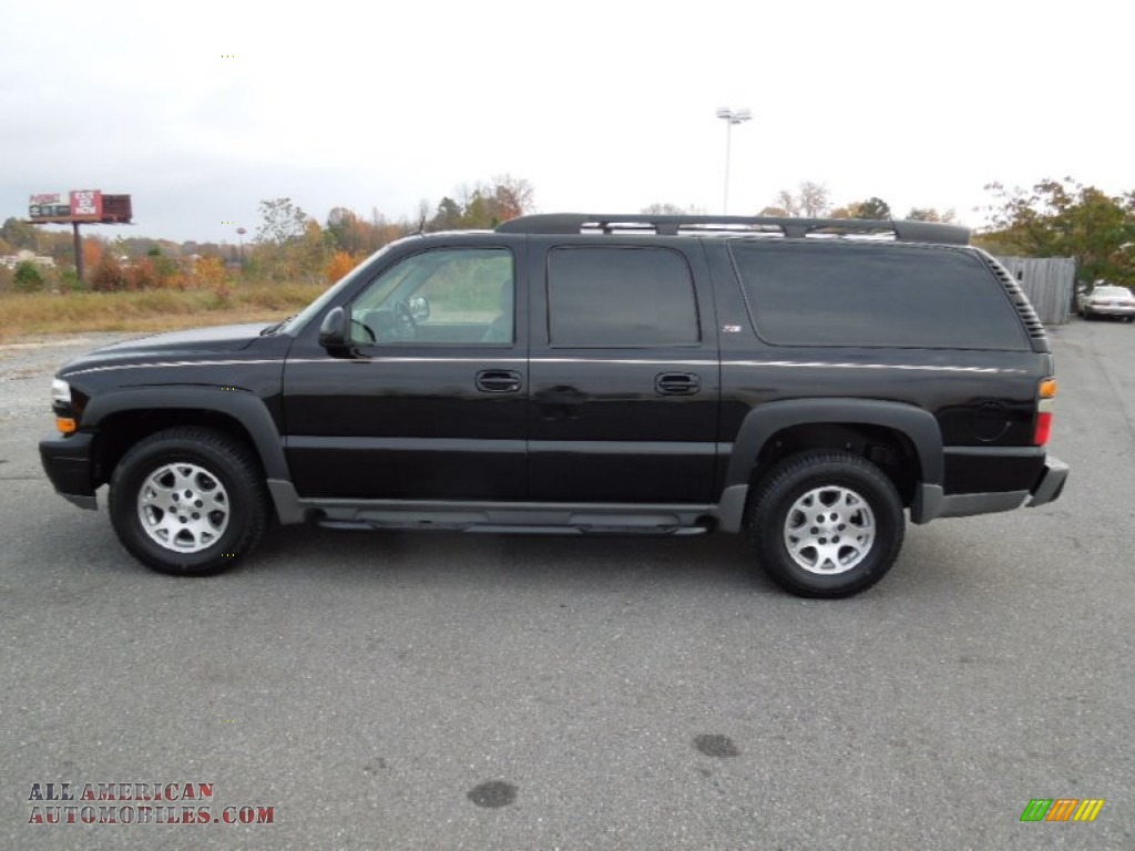 2005 chevrolet suburban 1500 z71 4x4 in black photo 3 218460 all american automobiles buy. Black Bedroom Furniture Sets. Home Design Ideas