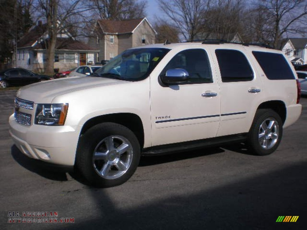 2013 chevrolet tahoe ltz 4x4 in white diamond tricoat 185759 all american automobiles buy. Black Bedroom Furniture Sets. Home Design Ideas
