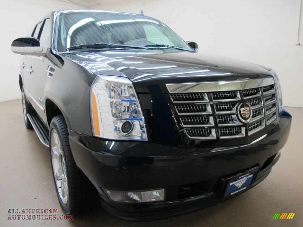 2008 Escalade AWD - Black Raven / Ebony photo #1