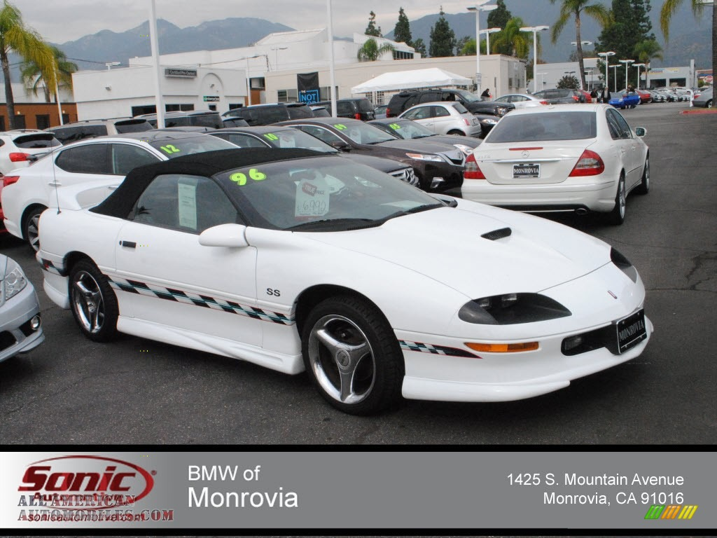 1996 Chevrolet Camaro Z28 SS Convertible in Arctic White - 154005 ...