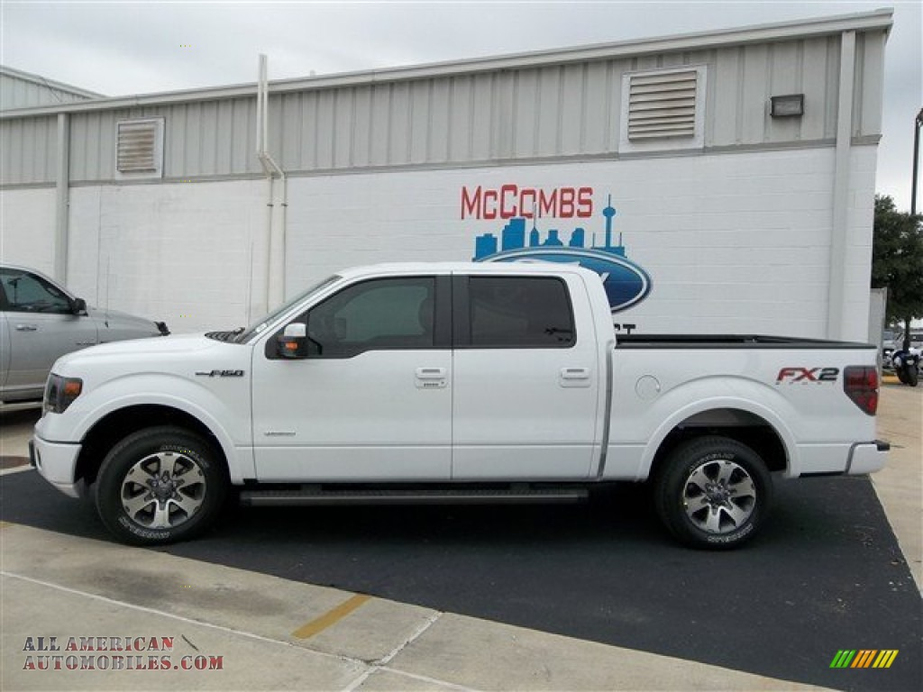 2013 ford f150 fx2 supercrew in oxford white photo 2 d46656 all american automobiles buy. Black Bedroom Furniture Sets. Home Design Ideas