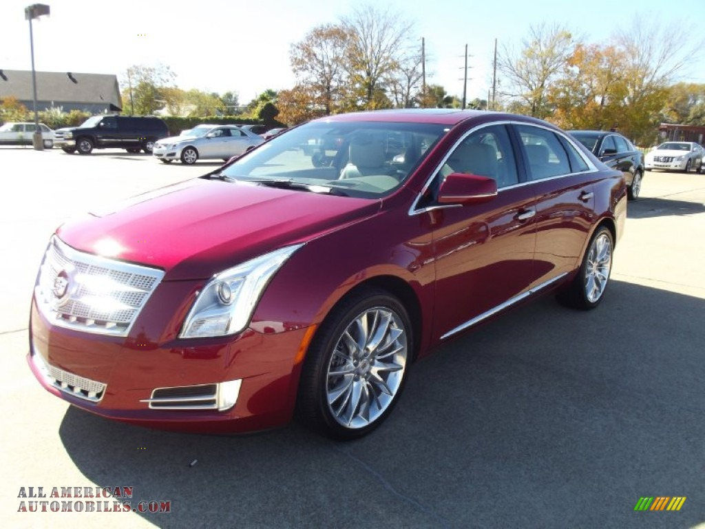 2013 cadillac xts platinum fwd in crystal red tintcoat 161063 all american automobiles buy. Black Bedroom Furniture Sets. Home Design Ideas