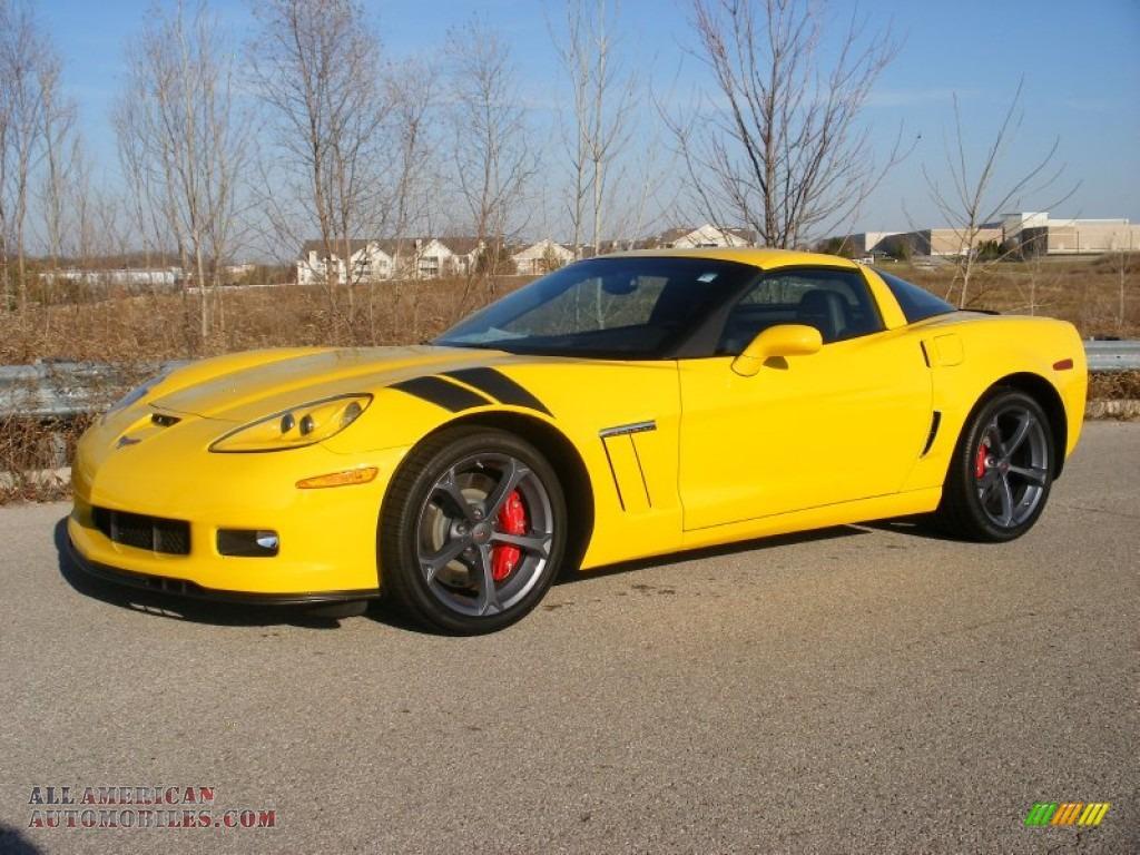 2012 chevrolet corvette grand sport coupe in velocity yellow 102925 all american automobiles. Black Bedroom Furniture Sets. Home Design Ideas