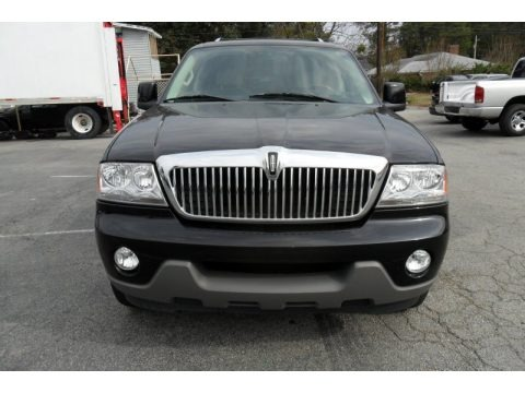 Black 2005 Lincoln Aviator Luxury AWD
