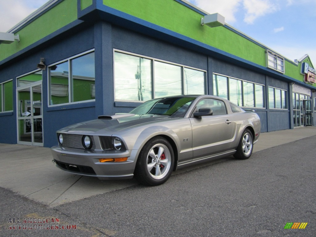 2008 Ford Mustang Gt Premium Coupe In Vapor Silver