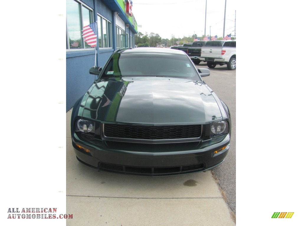 2008 Ford Mustang Bullitt Coupe In Highland Green Metallic