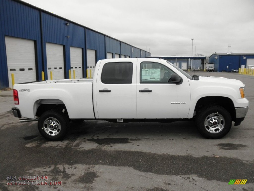 2013 gmc sierra 2500hd crew cab 4x4 in summit white 138689 all american automobiles buy. Black Bedroom Furniture Sets. Home Design Ideas