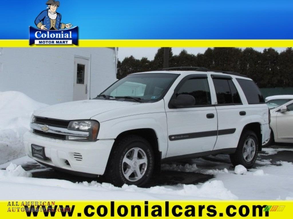 2004 Chevrolet Trailblazer Ls 4x4 In Summit White 162462
