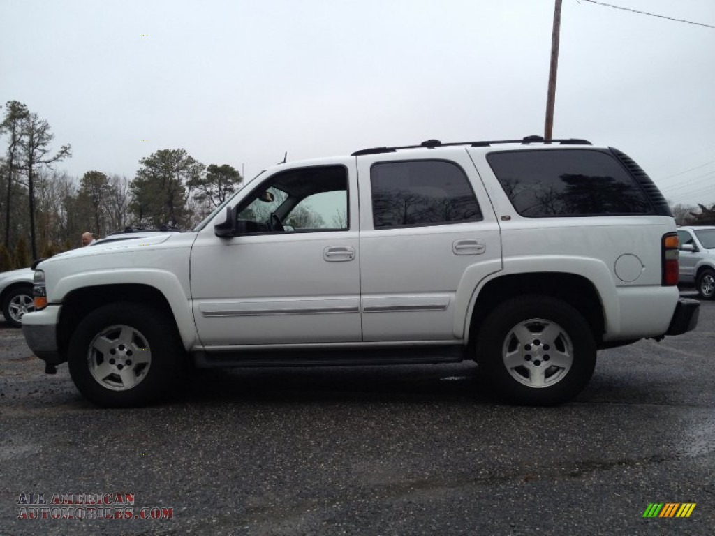 2005 chevrolet tahoe z71 4x4 in summit white photo 19 190588 all american automobiles buy. Black Bedroom Furniture Sets. Home Design Ideas