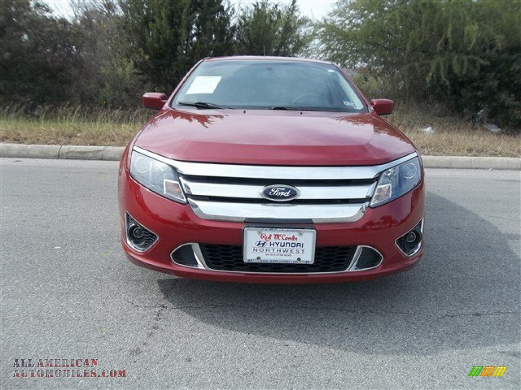 2010 ford fusion sport in sangria red metallic 147859. Black Bedroom Furniture Sets. Home Design Ideas