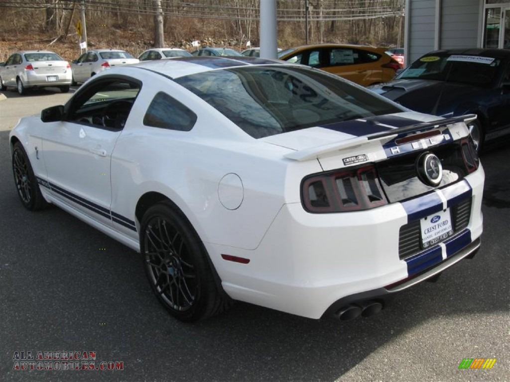 2013 mustang shelby gt500 coupe performance white shelby charcoal - Ford Mustang 2013 White