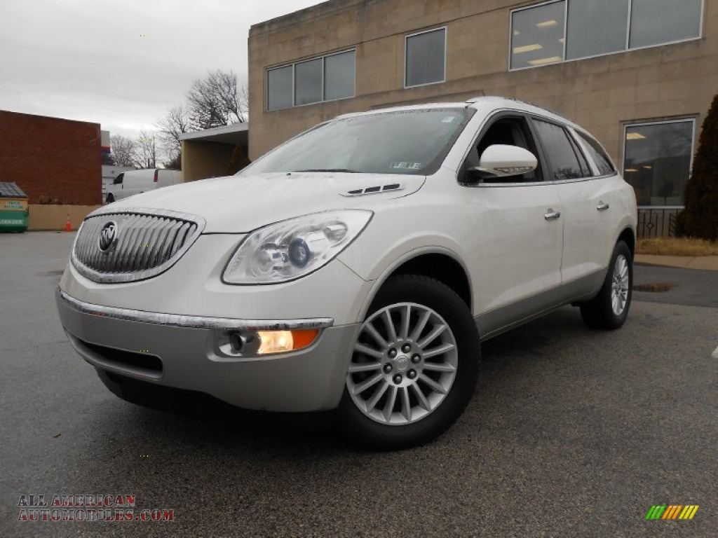 2010 buick enclave cxl awd in white opal photo 32 188114 all american automobiles buy. Black Bedroom Furniture Sets. Home Design Ideas