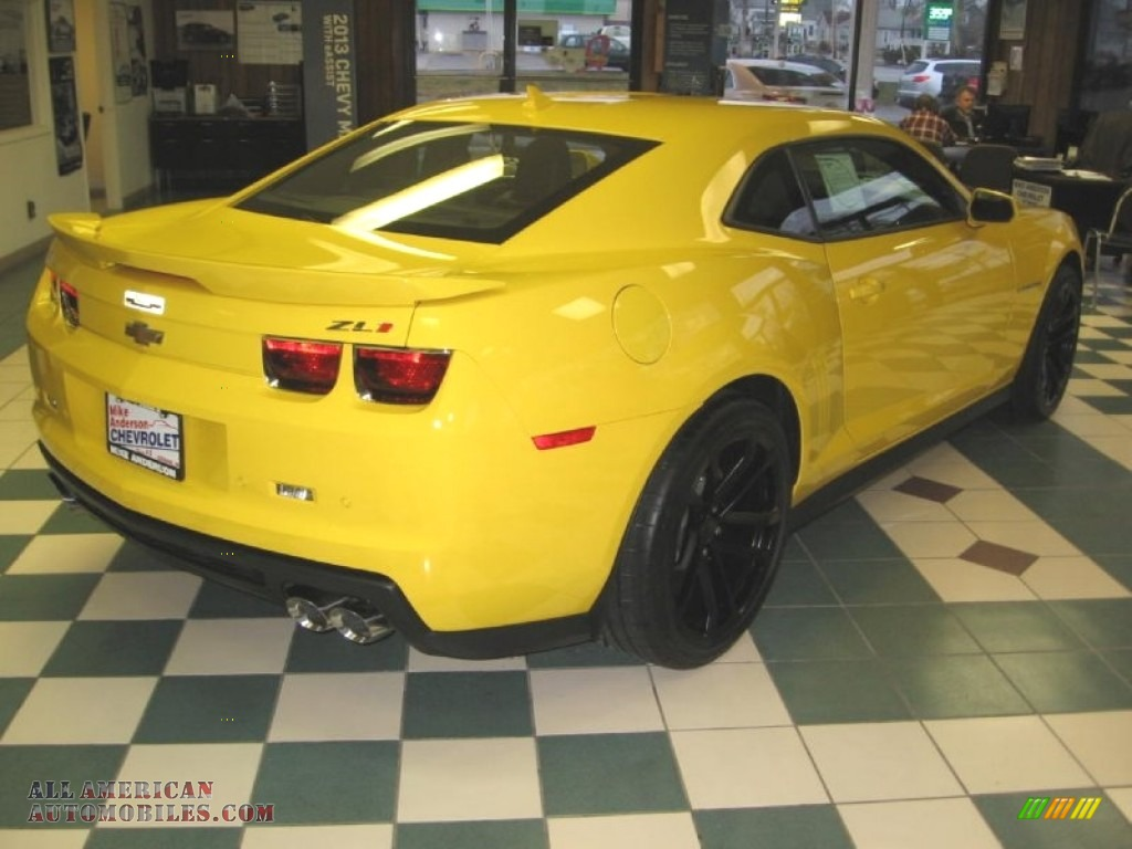 2013 Chevrolet Camaro Zl1 In Rally Yellow Photo 7