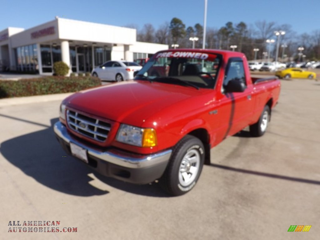2003 ford ranger xlt regular cab in bright red a12169 all american automobiles buy. Black Bedroom Furniture Sets. Home Design Ideas
