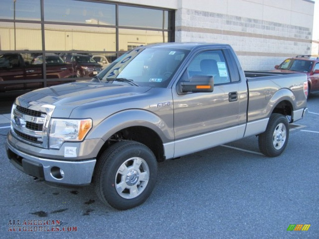 2013 ford f150 xlt regular cab 4x4 in sterling gray metallic photo 2 b33727 all american. Black Bedroom Furniture Sets. Home Design Ideas