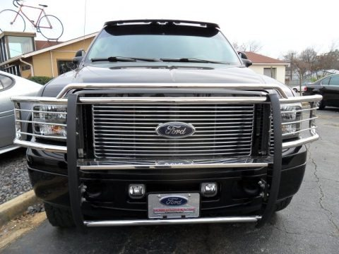 Black 2004 Ford Excursion Limited 4x4