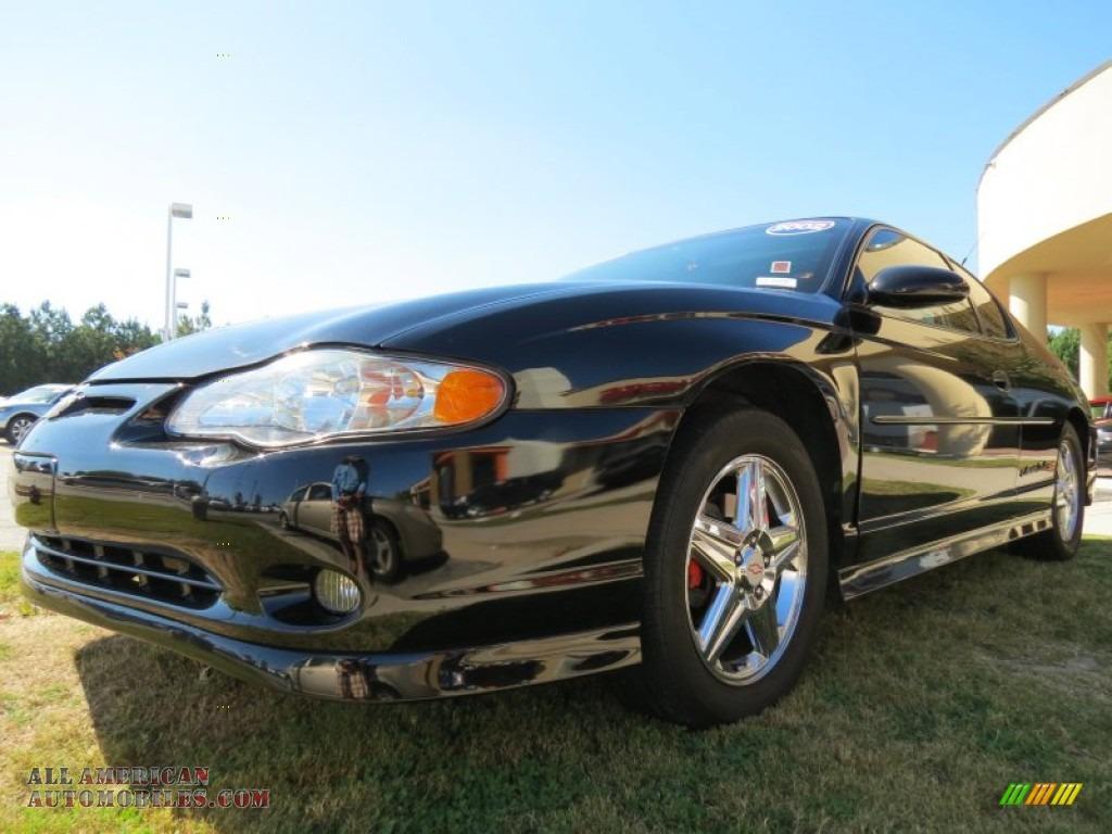 2002 Chevrolet Monte Carlo SS in Black - 172687 | All ...