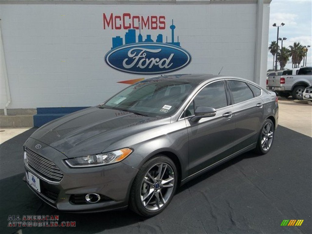 2013 ford fusion titanium in sterling gray metallic photo 2 127383 all american automobiles. Black Bedroom Furniture Sets. Home Design Ideas
