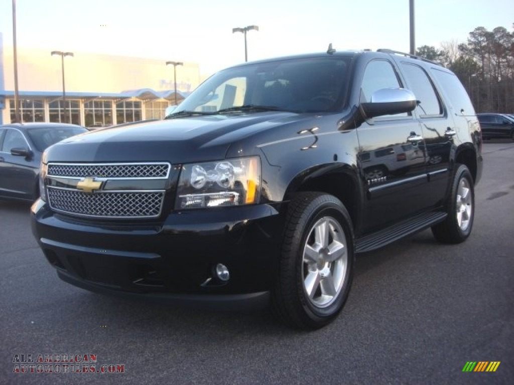 2008 chevrolet tahoe ltz 4x4 in black 231036 all american automobiles buy american cars. Black Bedroom Furniture Sets. Home Design Ideas