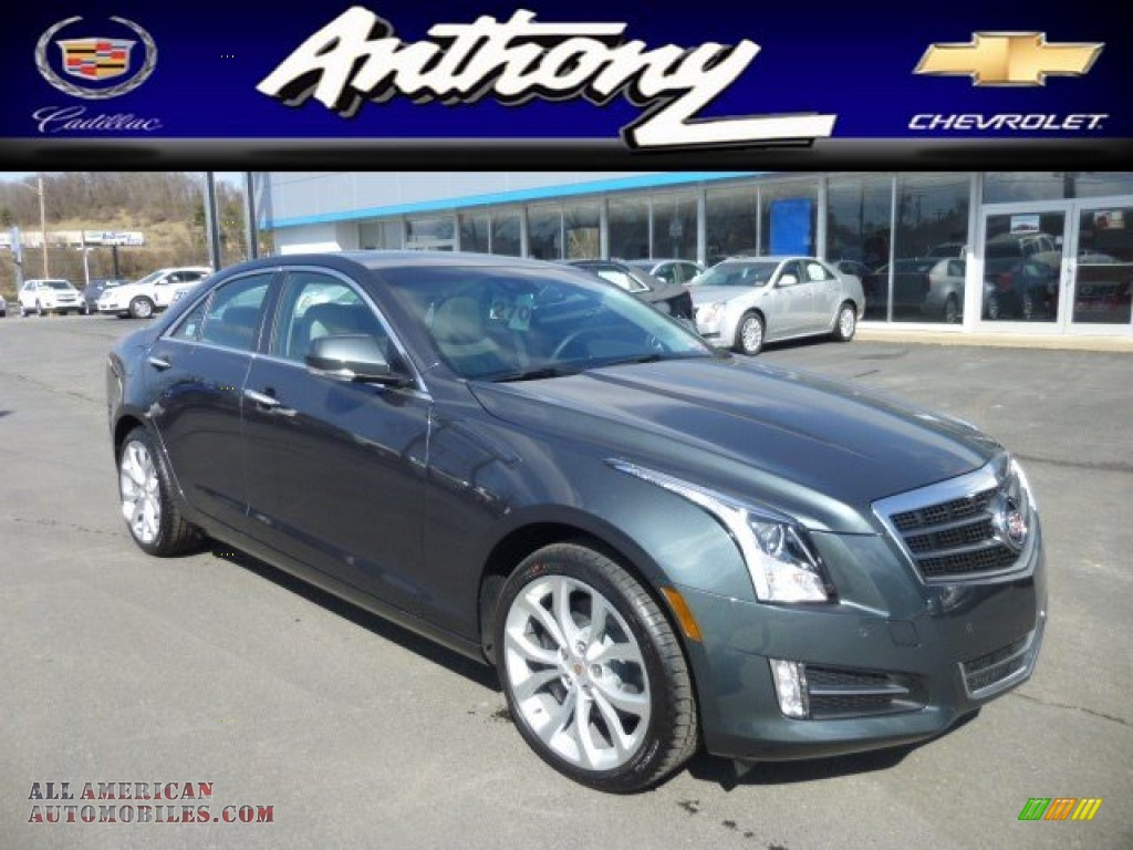 2013 cadillac ats 3 6l performance awd in thunder gray chromaflair 154070 all american. Black Bedroom Furniture Sets. Home Design Ideas