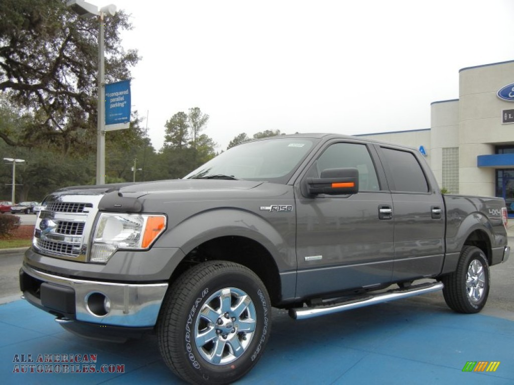 2013 ford f150 xlt supercrew 4x4 in sterling gray metallic d57992 all american automobiles. Black Bedroom Furniture Sets. Home Design Ideas