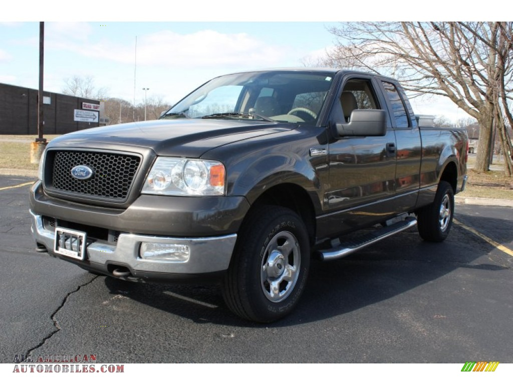 2005 ford f150 stx supercab 4x4 in dark stone metallic. Black Bedroom Furniture Sets. Home Design Ideas