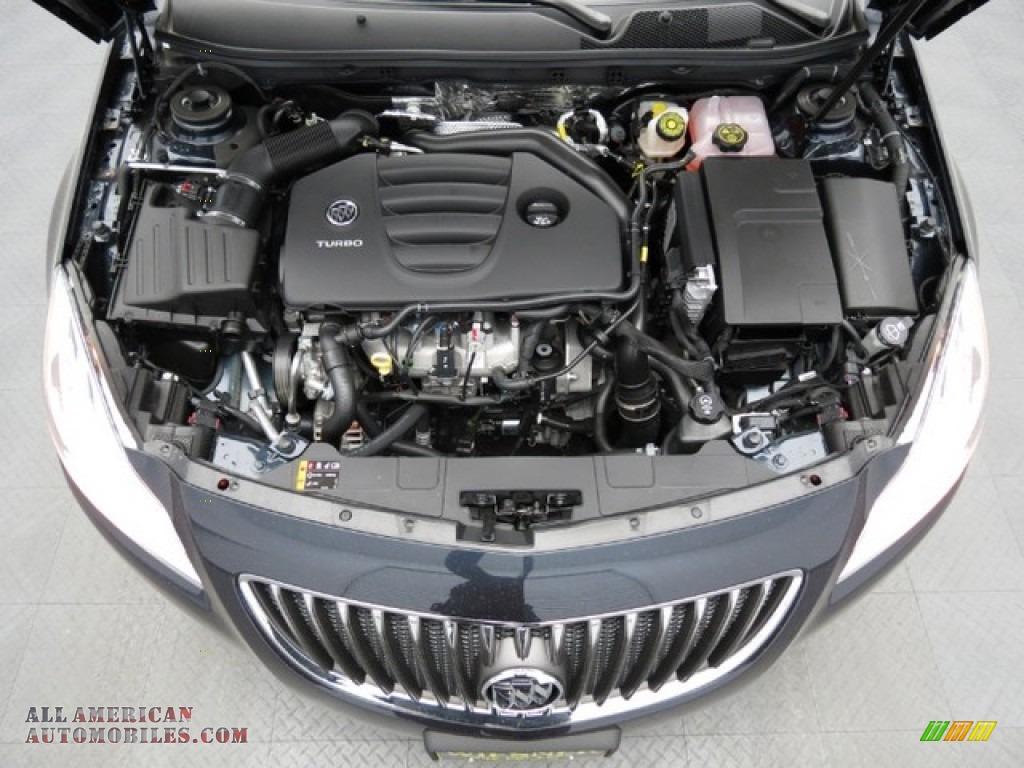 2013 Buick Regal Turbo In Graphite Blue Metallic Photo 3