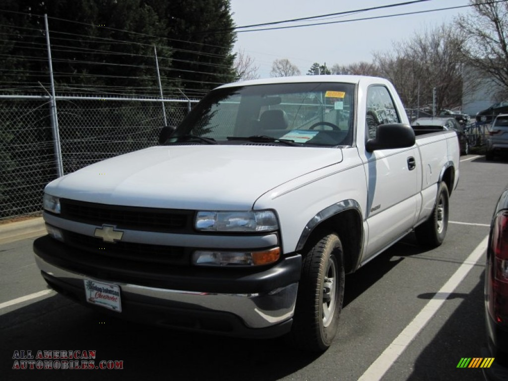 1999 chevrolet silverado 1500 ls regular cab in summit white 181916 all american automobiles. Black Bedroom Furniture Sets. Home Design Ideas