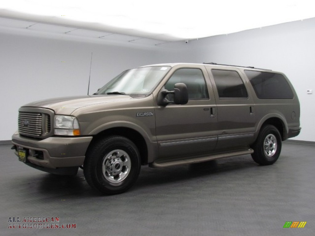 2003 Ford Excursion Limited In Mineral Grey Metallic Photo