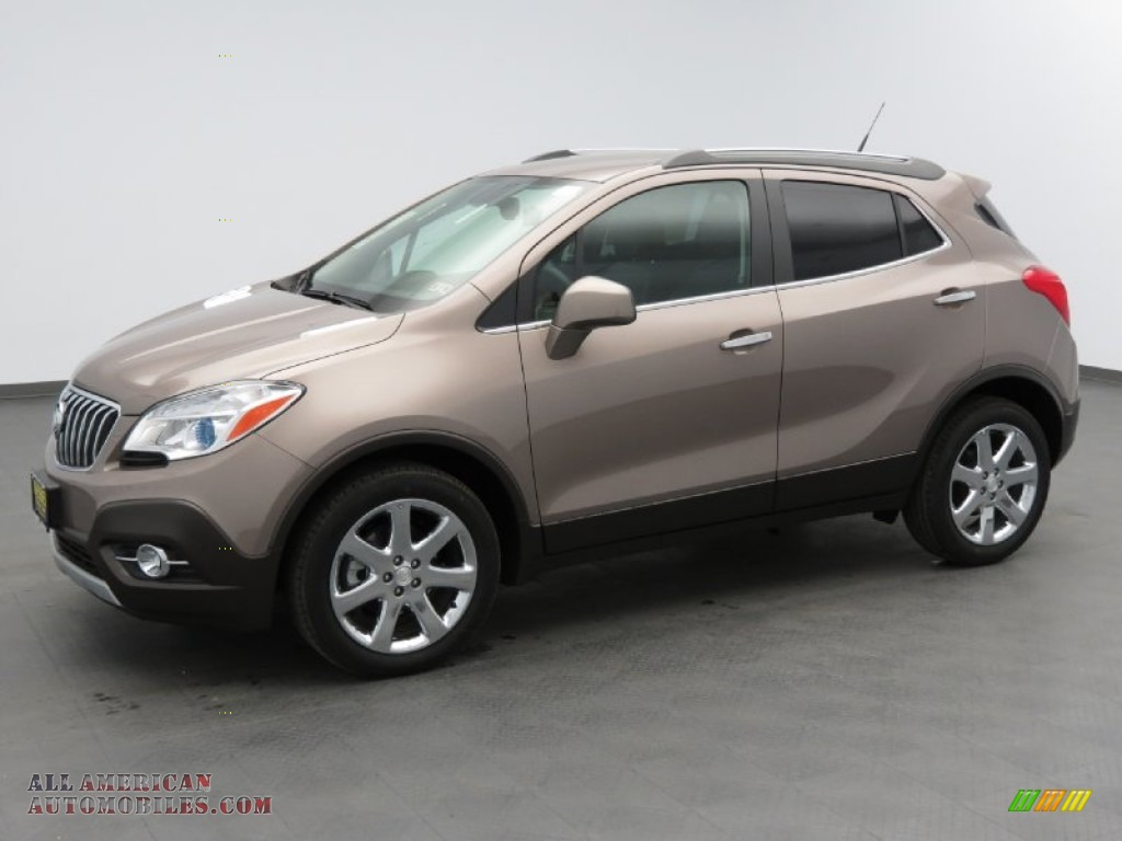 2013 Buick Encore Leather In Cocoa Silver Metallic