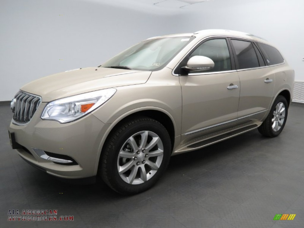 2013 Buick Enclave Premium In Champagne Silver Metallic