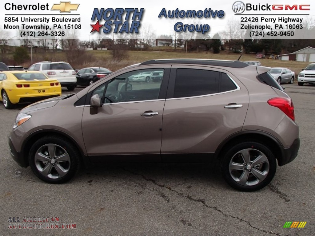 2013 Buick Encore Convenience in Cocoa Silver Metallic ...