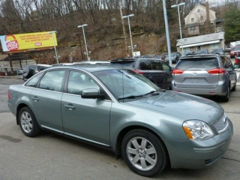 Titanium Green Metallic 2007 Ford Five Hundred SEL