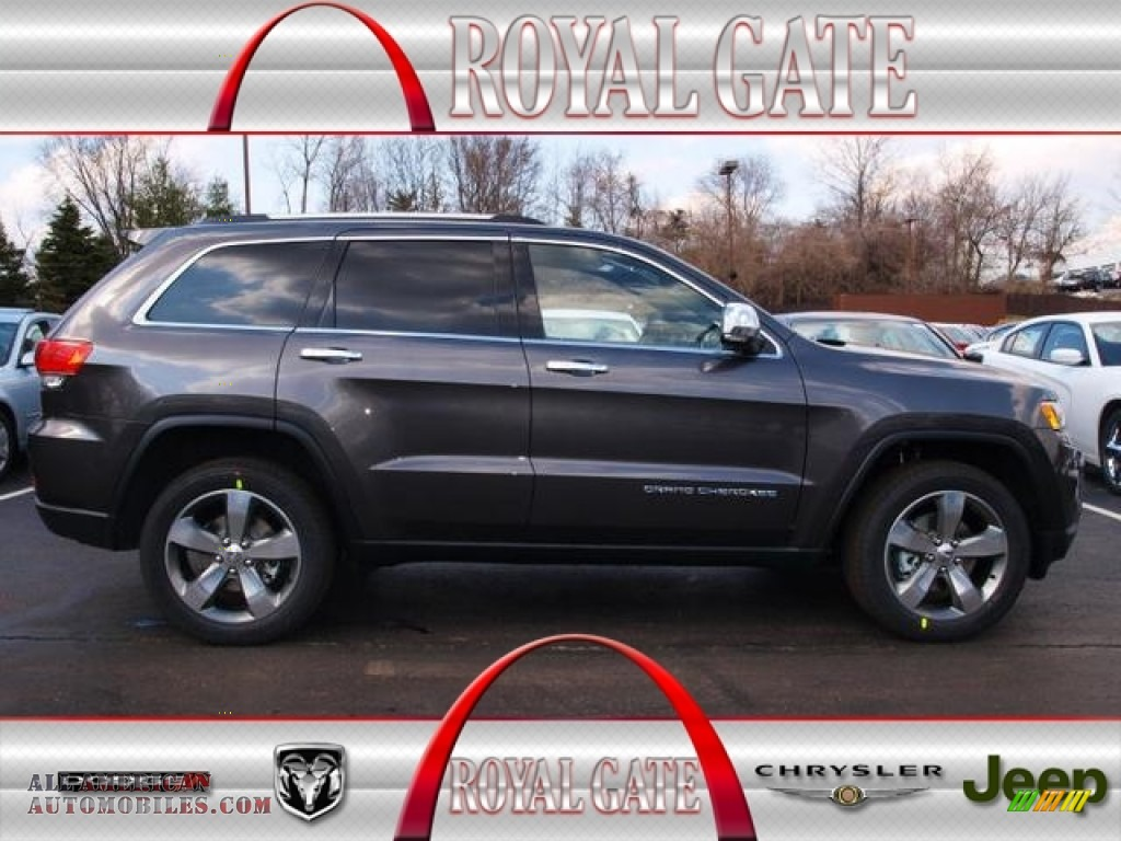 2014 Jeep Grand Cherokee Limited 4x4 In Granite Crystal