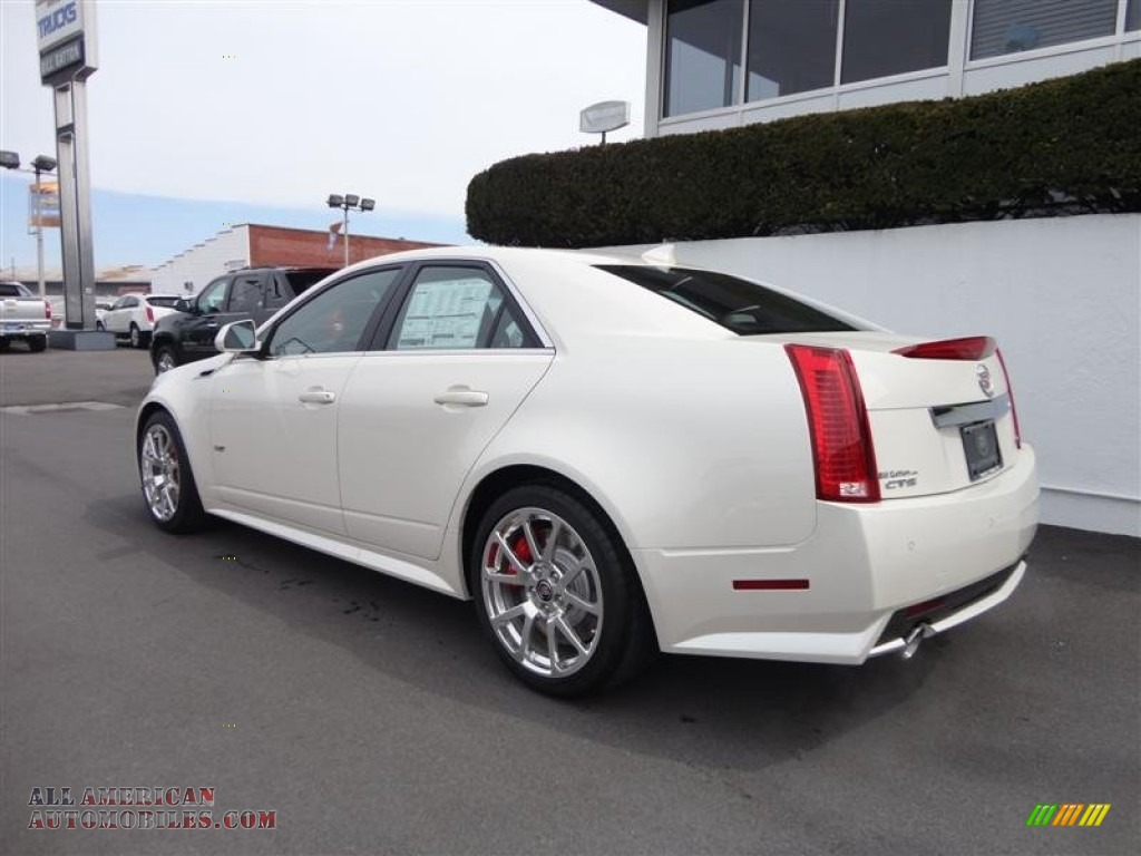2013 cadillac cts v sedan in white diamond tricoat photo 5 157939 all american automobiles. Black Bedroom Furniture Sets. Home Design Ideas