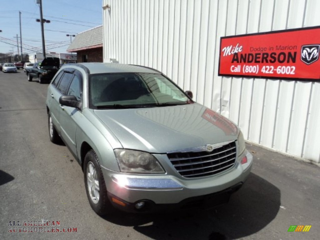 2004 Chrysler Pacifica in Satin Jade Green Pearl photo #3 ...