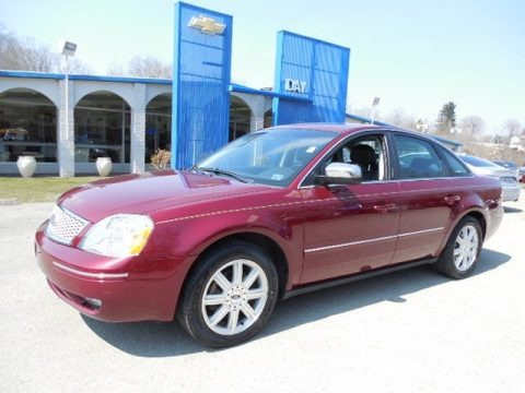 Merlot Metallic 2005 Ford Five Hundred Limited AWD