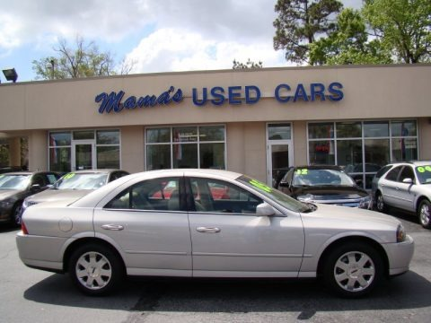 Silver Birch Metallic 2005 Lincoln LS V6 Luxury