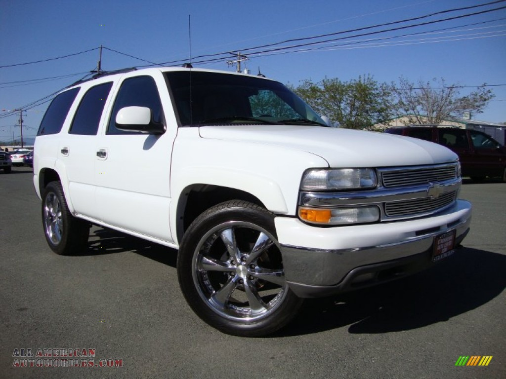 2005 chevrolet tahoe lt 4x4 in summit white 229737 all. Black Bedroom Furniture Sets. Home Design Ideas