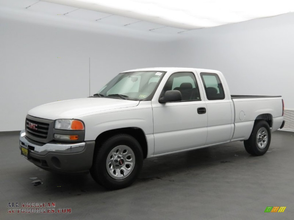2006 Gmc Sierra 1500 Extended Cab In Summit White 279914