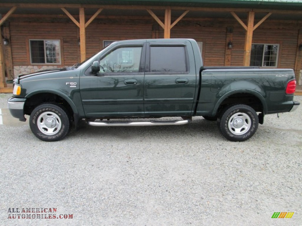 2001 ford f150 xlt supercrew 4x4 in dark highland green metallic. Cars Review. Best American Auto & Cars Review