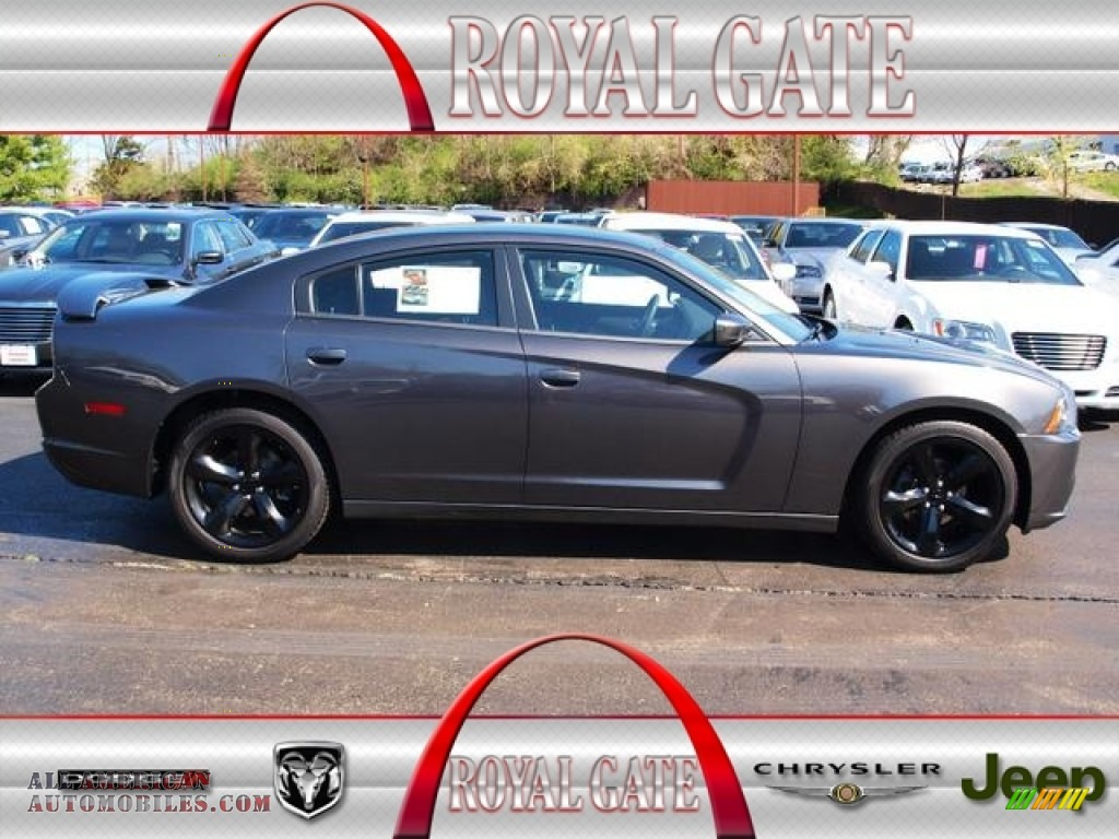Royal Gate Dodge >> 2013 Dodge Charger SXT Blacktop in Granite Crystal photo #5 - 606015 | All American Automobiles ...