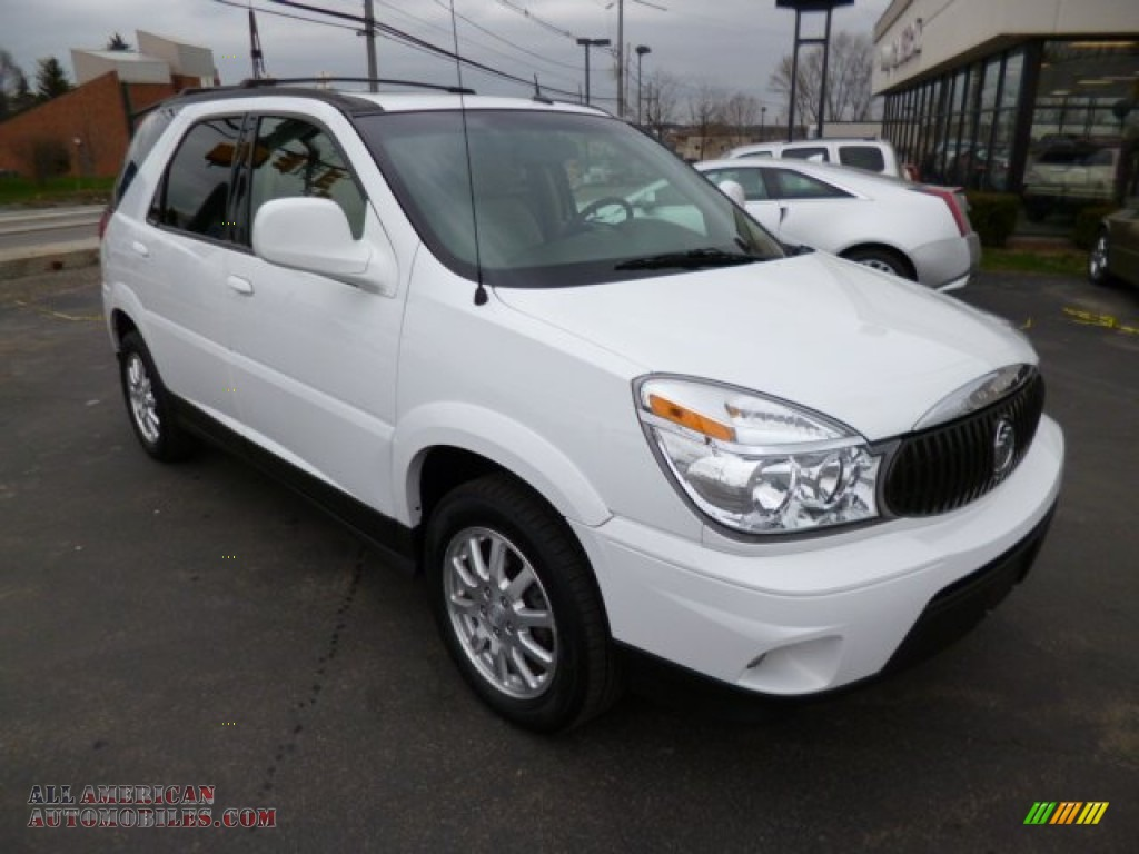 2007 buick rendezvous cxl in frost white 573635 all american automobiles buy american cars. Black Bedroom Furniture Sets. Home Design Ideas