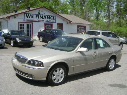 Light French Silk Metallic 2004 Lincoln LS V6