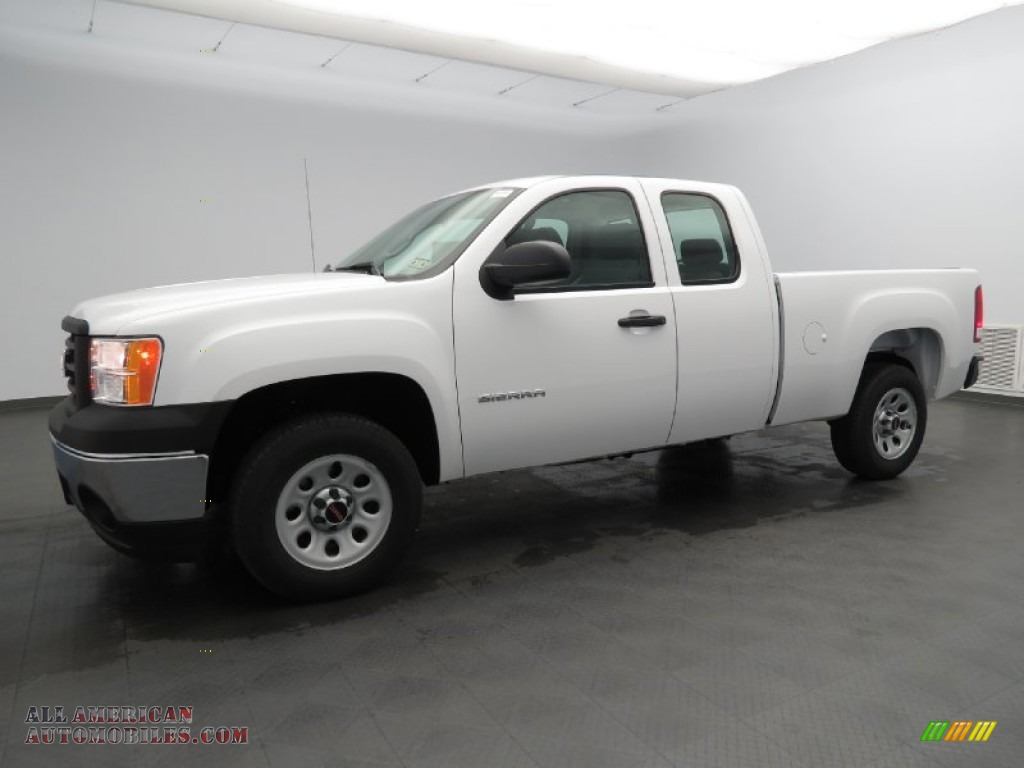 2013 Gmc Sierra 1500 Extended Cab In Summit White 327724