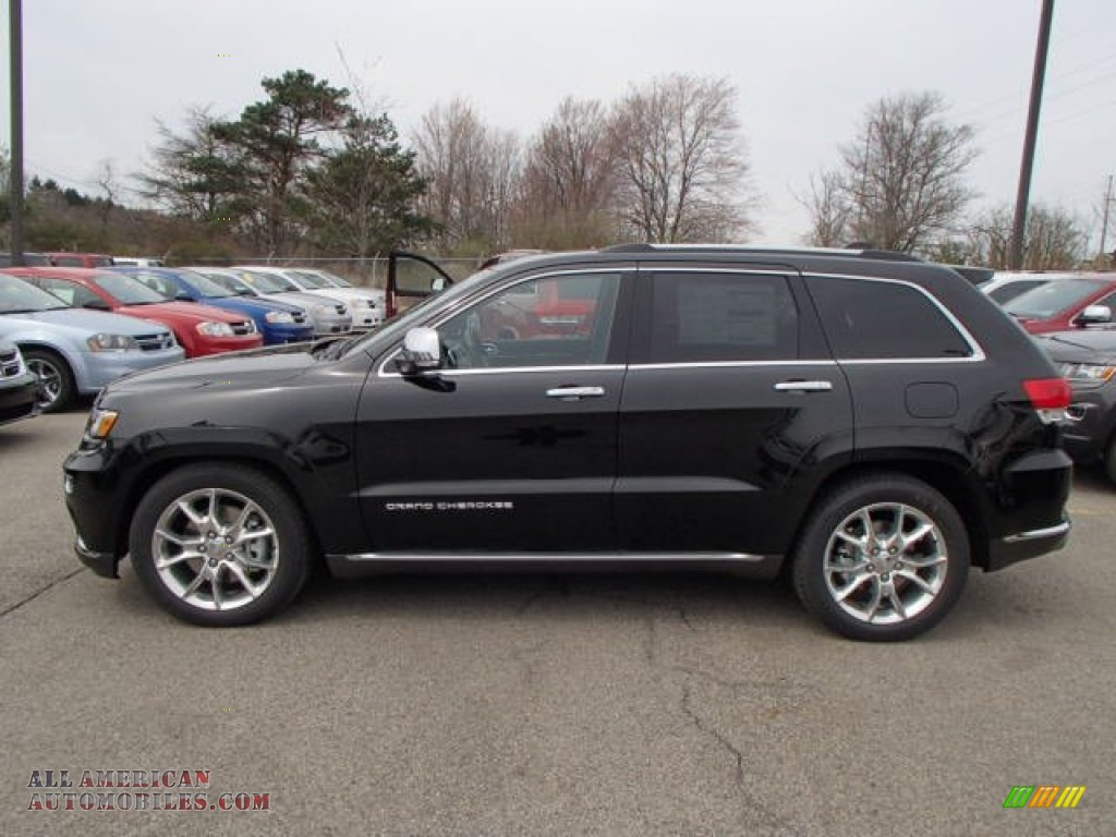 Ron Lewis Cranberry >> 2014 Jeep Grand Cherokee Summit 4x4 in Brilliant Black Crystal Pearl photo #2 - 146128 | All ...