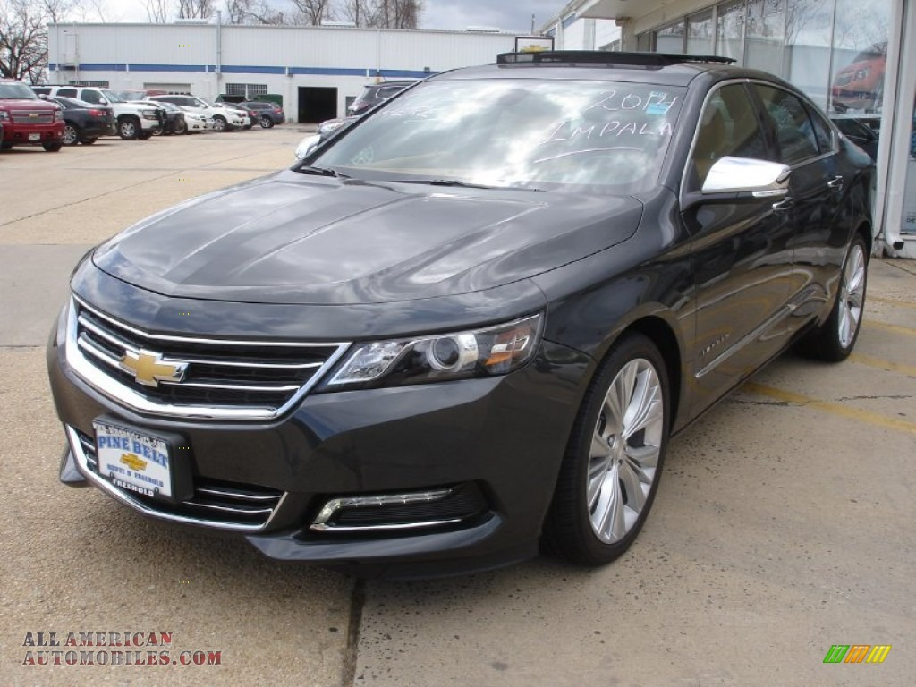 2014 chevrolet impala ltz in ashen gray metallic 101248 all american automobiles buy. Black Bedroom Furniture Sets. Home Design Ideas